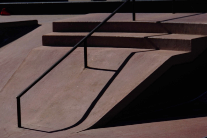Skatepark shadows